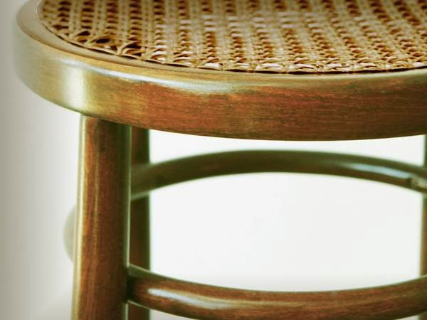 Vintage Bentwood (Rattan Wicker) Caned Seat COUNTER/BAR STOOL (Oklahoma City Craigslist)