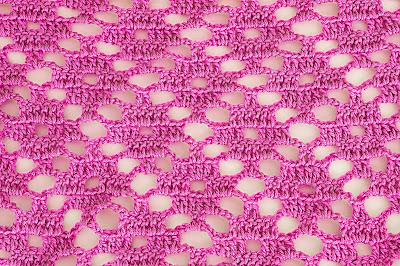 6 - Crochet Imagen Puntada a crochet de rombo muy fácil y sencilla por Majovel Crochet