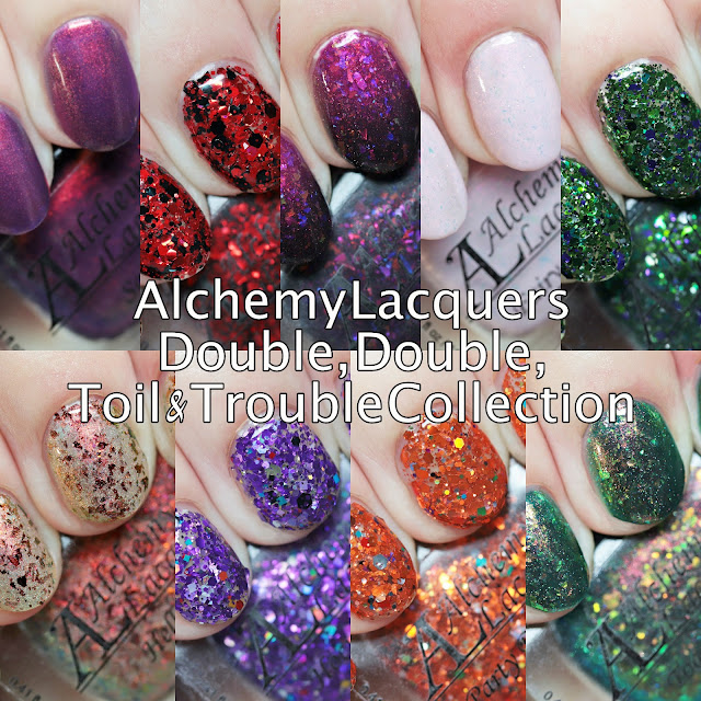 Alchemy Lacquers Double, Double, Toil & Trouble Collection