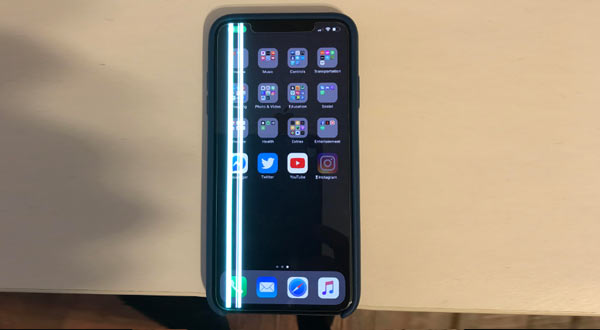 Penyebab Layar HP Android Bergaris Putih dan Berkedip