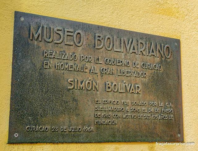 Museu casa de Simón Bolívar em Curaçao
