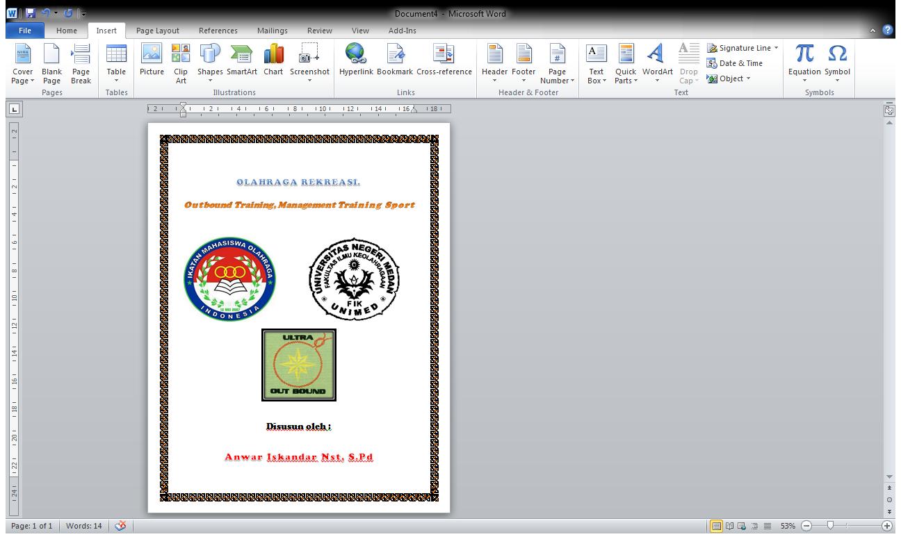 Format Penulisan Skripsi 2013 Home K9 Ventures Contoh Cover Makalah Kuliah Yang Baik Dan Benar