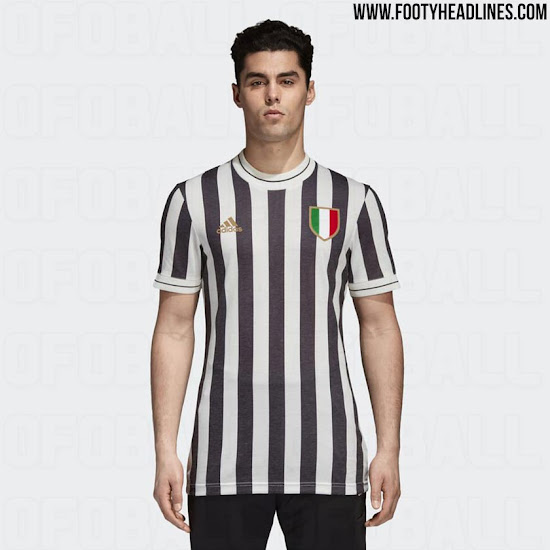cedd5689 Adidas will release a classic Juventus retro kit that draws inspiration  from the club's jerseys of the 1950s.