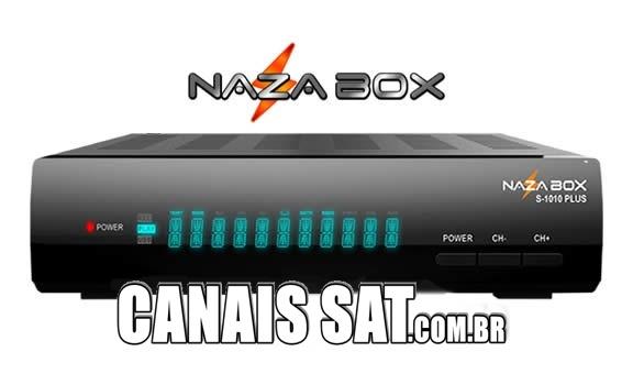 Nazabox S1010 Plus Atualização V2.77 - 27/03/2021