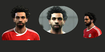 PES 2013 Roman Burki and Mohamed Salah Face by MTFacemaker