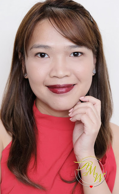 a photo of BLK Velvet Lip Crema in Classy, Flirty and Alluring review by Nikki Tiu of www.askmewhats.com