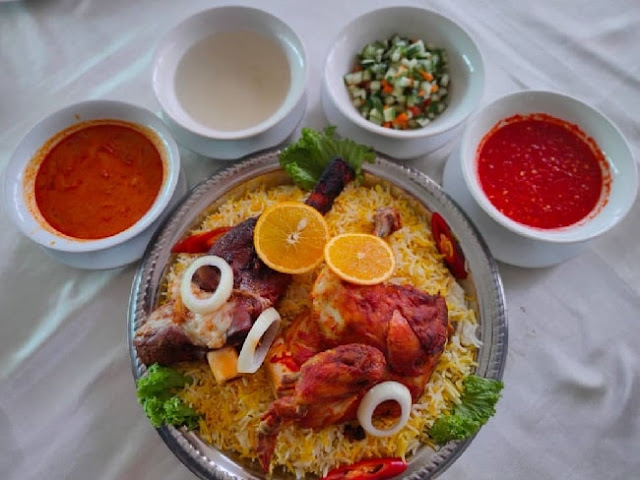 Nasi Arab Lamb Shank