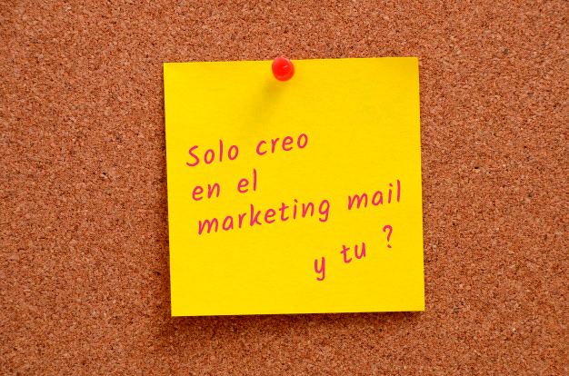 Solo creo en el marketing mail, lo demás es Cuento de hadas