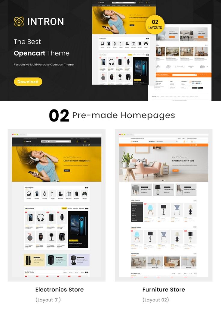 Mega Store OpenCart Responsive Theme