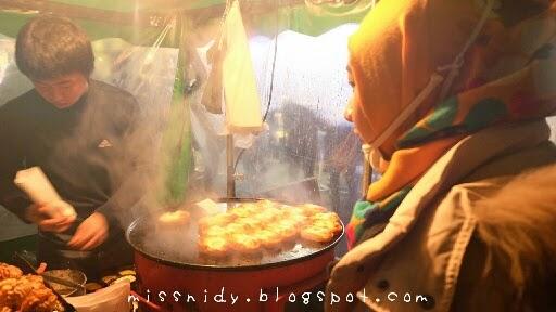 jajan street food di seoul