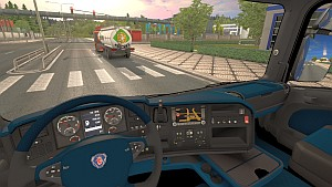 Scania R Primary Blue interior mod 1.1