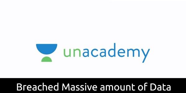 Unacademy Online Education Platform Data breach - 22 million user records Exposed on Dark Web