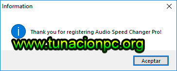 Descargar Audio Speed Changer Pro Gratis
