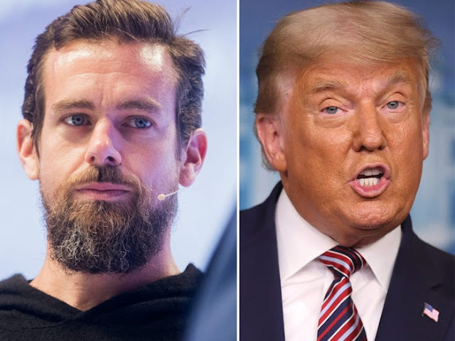 Twitter CEO, Jack Dorsey says banning Donald Trump from Twitter was the best Decision