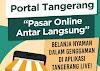 Aplikasi Belanja Online Pasar Tradisional, Portal Tangerang
