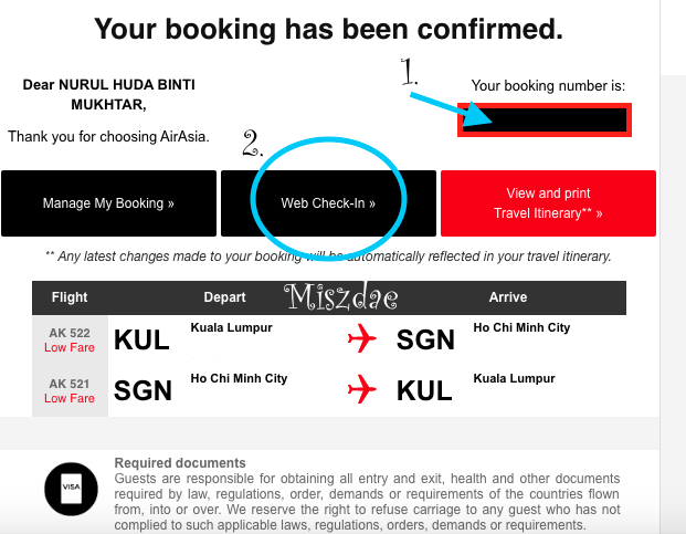 Cara Check In Ticket Flight Air Asia Online Miszdae Travel