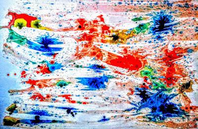 Abstract Art  Natures Colors  Miabo Enyadike