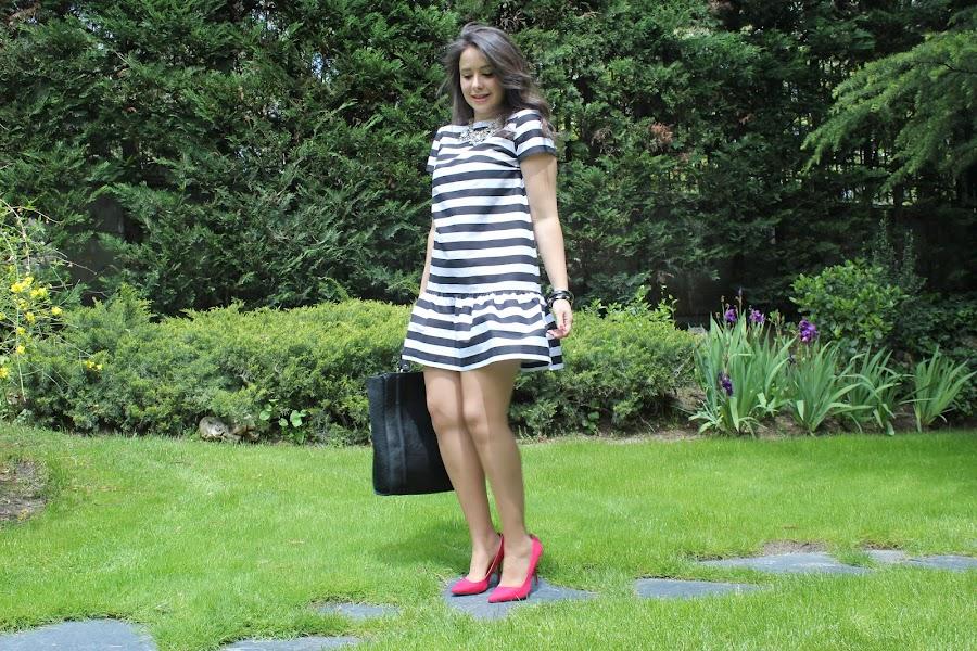 Cómo hacer vestido corto de rayas para el verano