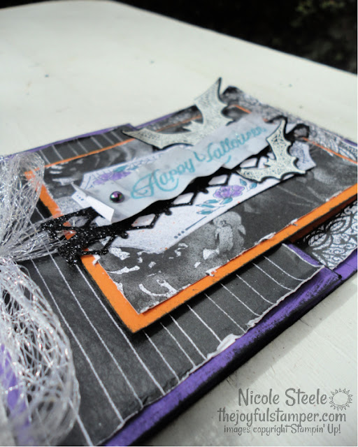 halloween card, fun fold card, joy fold card, magic in this night, stampin' up!, how to make a card, card tutorials, card videos, nicole steele, indpendent stampin' up! demonstrator from Pittsburgh PA, The Joyful Stamper
