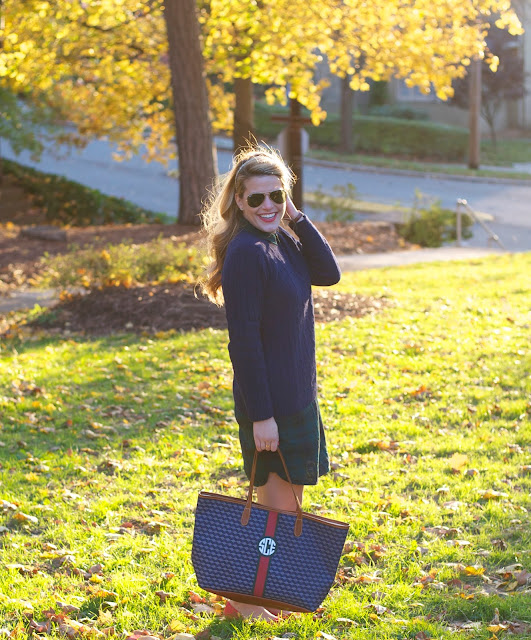 Barrington Gifts Monogrammed St. Anne tote