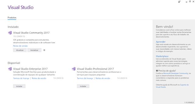 [TUTORIAL] C# .NET  Instalar Cargas de trabalho/Componentes Individuais no Visual Studio Instalador%2Bdo%2BVisual%2BStudio