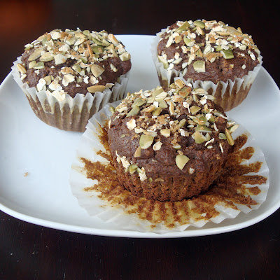 Spiced Pumpkin Molasses Muffins {Alida's Kitchen}