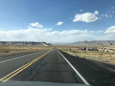 Route 89 West of Lake Powell
