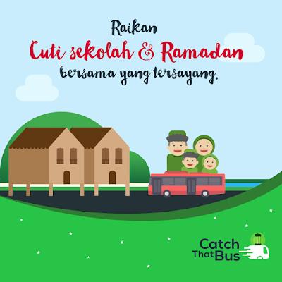 CatchThatBus Promo Code Ramadan 10% Discount