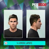 PES 6 Faces Aymeric Laporte by El SergioJr