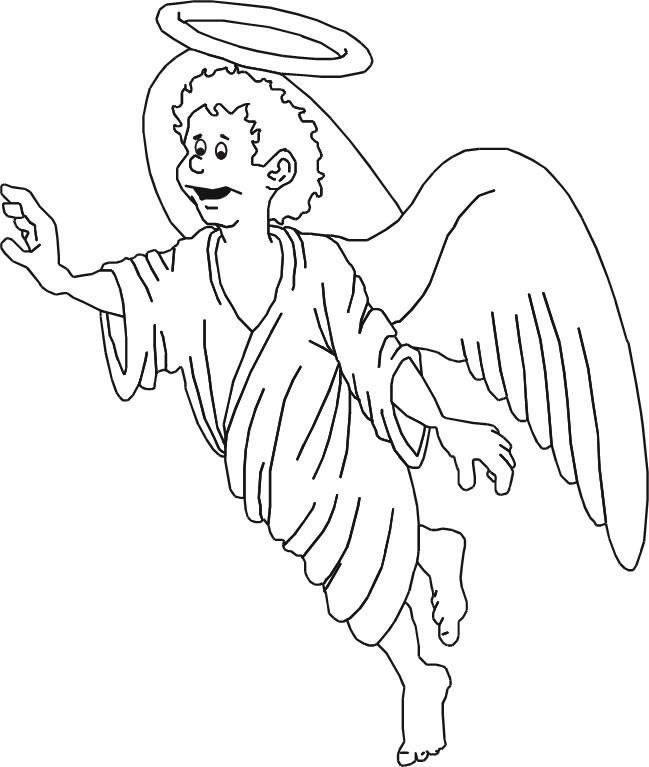 Imagenes Para Pintar Un Angel Y Dibujar