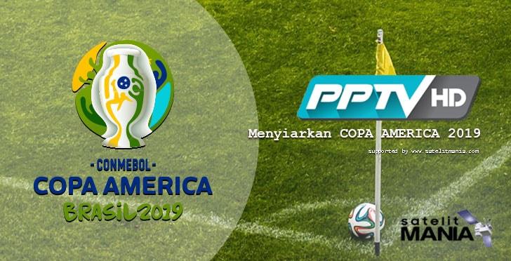 Channel Memiliki Hak Siar Copa America 2019
