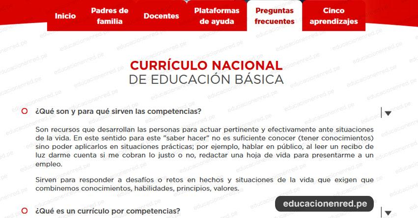 ¿Qué es el Currículo Nacional de Educación Básica 2019?