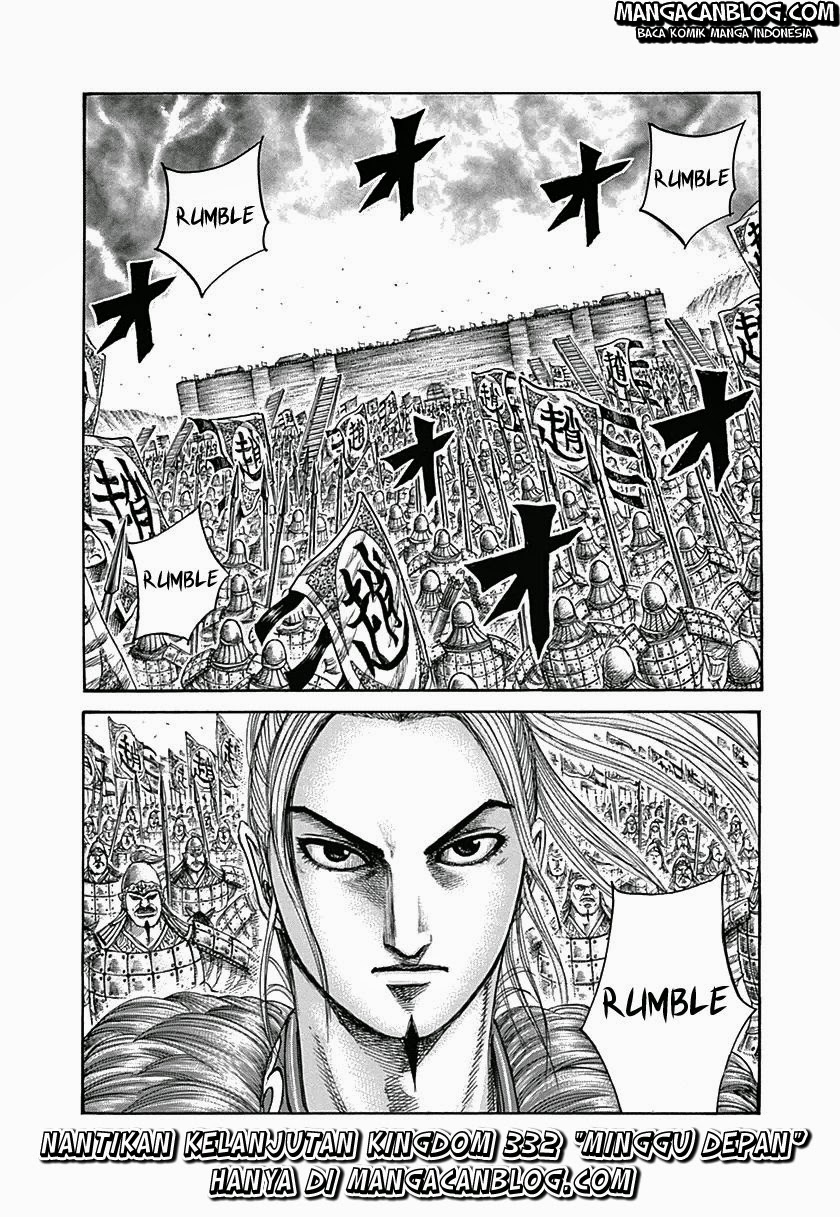 Baca Komik Manga Kingdom Chapter 331 Komik Station