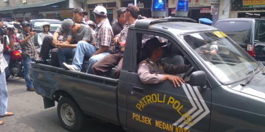 Preman Bertato Di Medan Berani Ajak Ribut Kapolsek