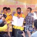 DPW Partai Berkarya NTB Serahkan SK Dukungan Kepada Empat Cakada