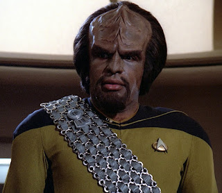 Worf switched to gold
