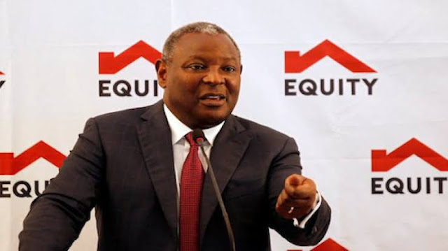 Equity Bank Group CEO Dr James Mwangi