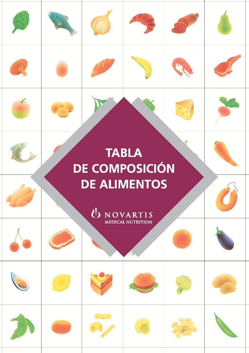 Tabla de composición de alimentos – Novartis