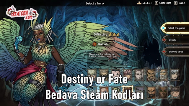Destiny-or-Fate-Bedava-Steam-Kodlari
