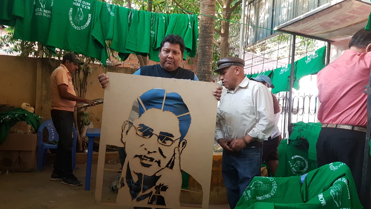 El partido de Patzi ha logrado avanzar en los departamentos amazónicos del país / MTS