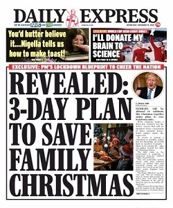 Daily Express Magazine 18 November 2020 | Daily Express News | Free PDF Download