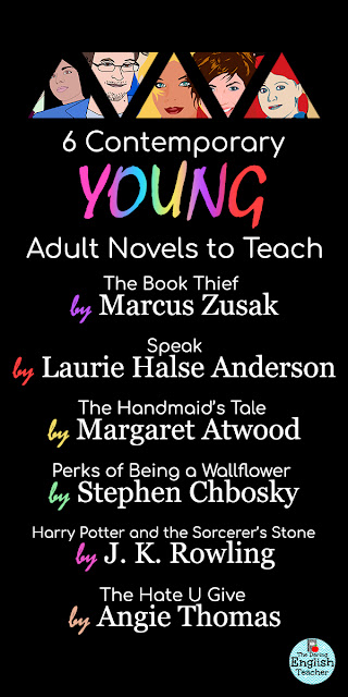6 Contemporary Young Adult Novels to Teach in the High School English Classroom