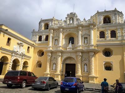 Spanish Baroque church in Guatemala