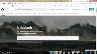 شرح وتحميل تطبيق Unsplash لتحميل الصور