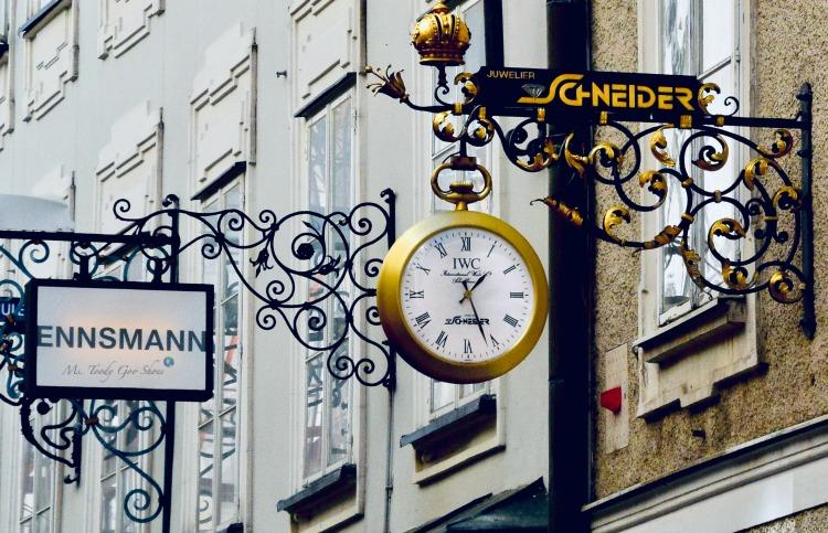 Getreidegasse (Grain Lane) -  Salzburg, Austria | Ms. Toody Goo Shoes