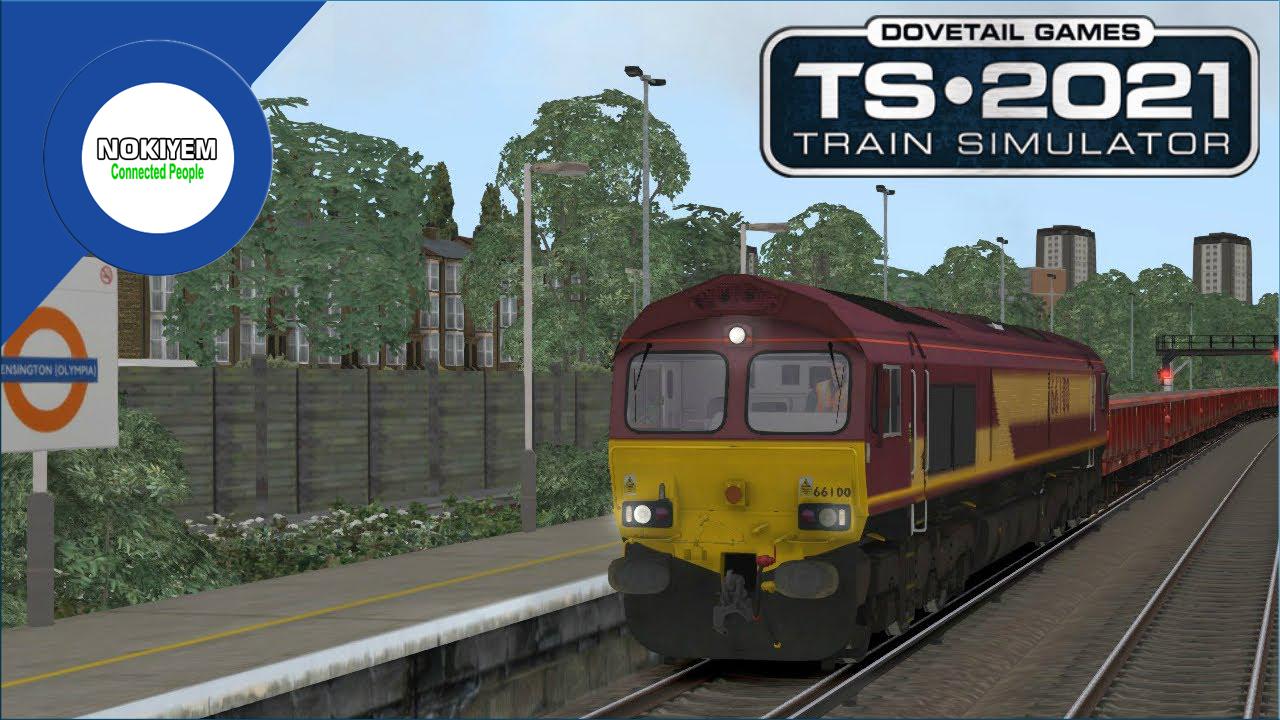 Train Simulator 2021 : menghadirkan pilihan tiga rute perjalanan terbaru, jalur kereta api