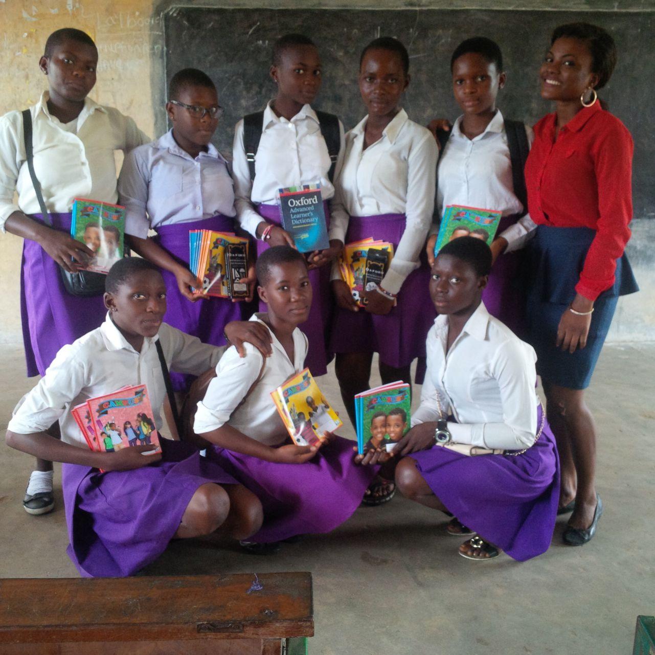 Hope For African Girls Initiative Teaching Girls The