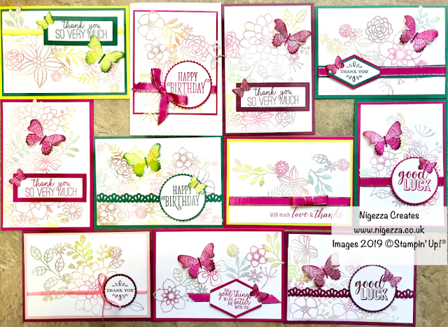 Nigezza Creates with Stampin' Up! Delightfully Detailed OSW