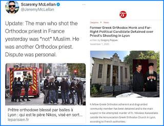 Pelaku Penembakan Pendeta Ortodoks di Prancis Ternyata Bukan Muslim, Tapi Sesama Pendeta