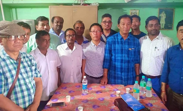 Binoy Tamang in Assam regarding NRC issue to Gorkha people